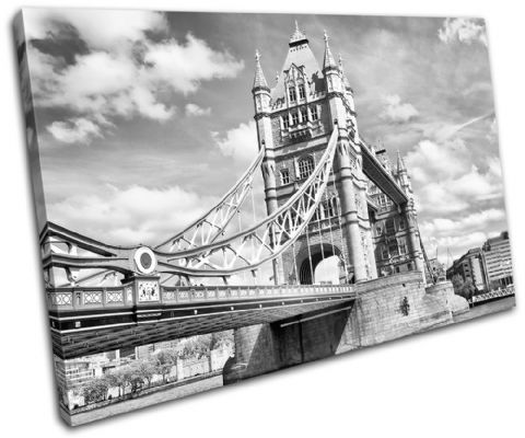 Tower Bridge London B & W City - 13-0283(00B)-SG32-LO